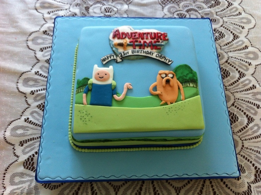 Cake Design Adventure Time : Birthday Cakes Southwick, Brighton   Flair 4 Cakes