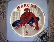 spiderman-closeup
