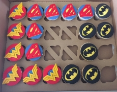 WonderWoman SuperWoman BatGirl cupcakes.jpg