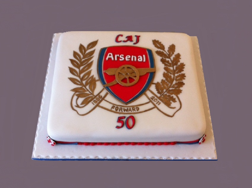Arsenal Cake Decorations